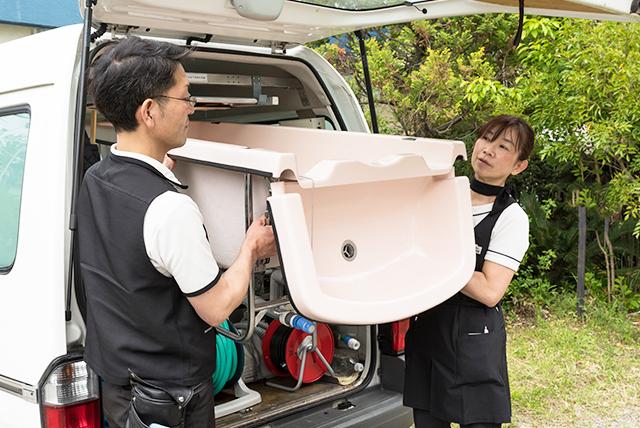 画像:湯灌サービス1